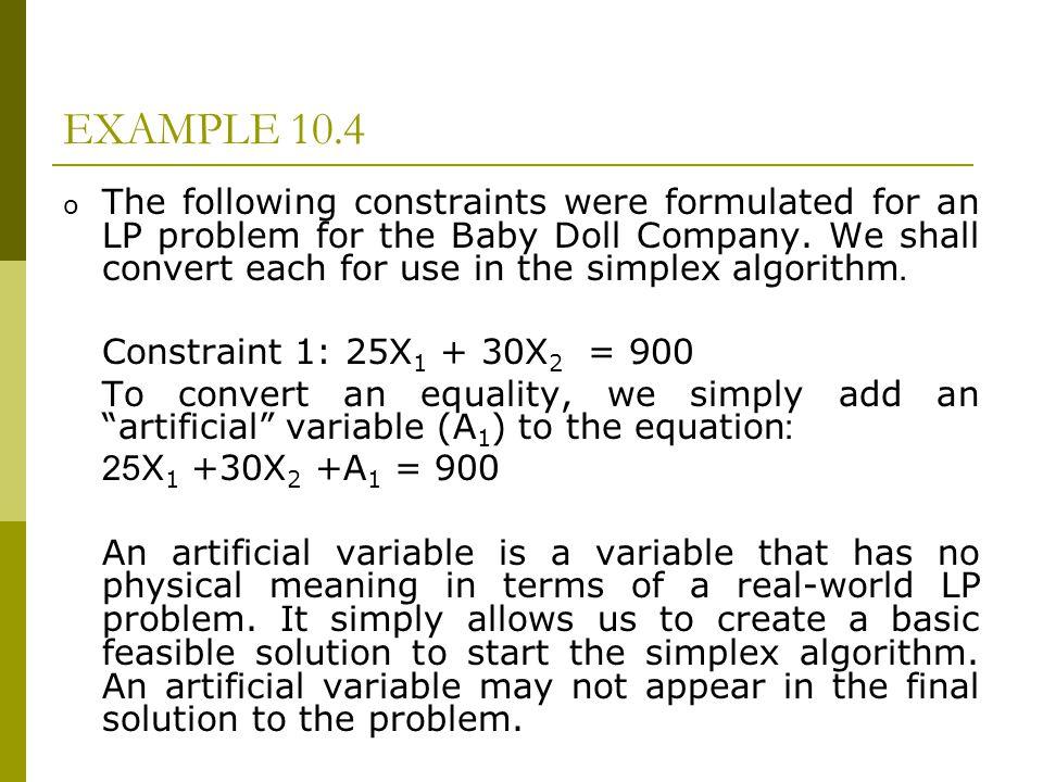 EXAMPLE 10.4