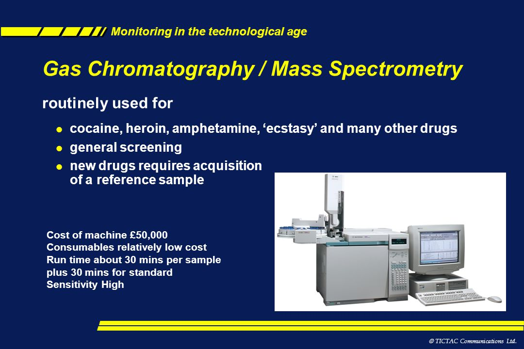 Gas Chromatography / Mass Spectrometry