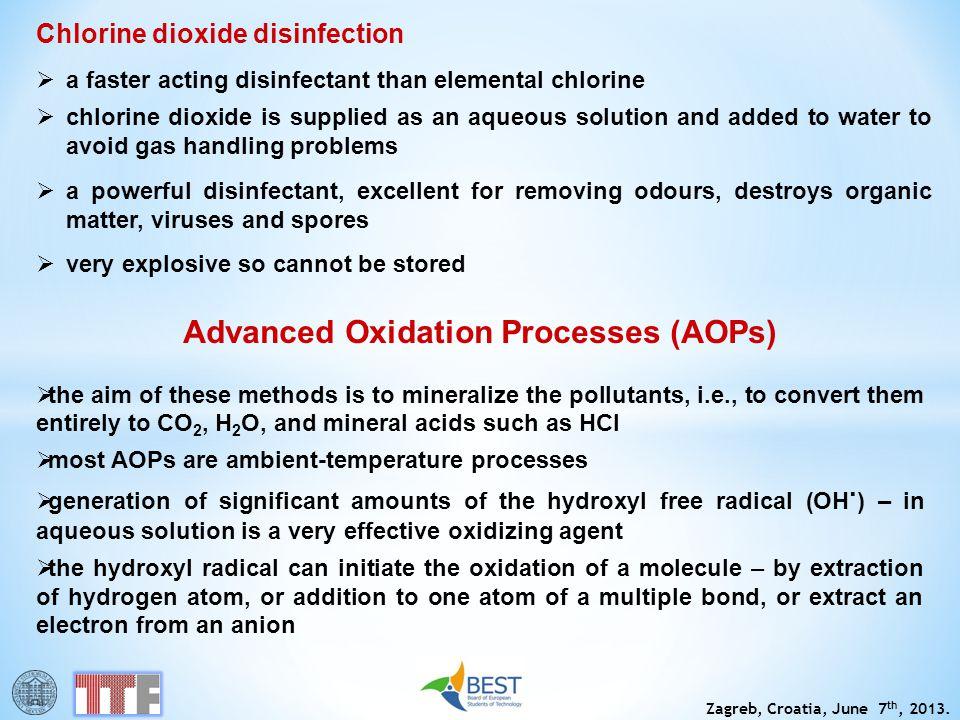 Advanced Oxidation Processes (AOPs)