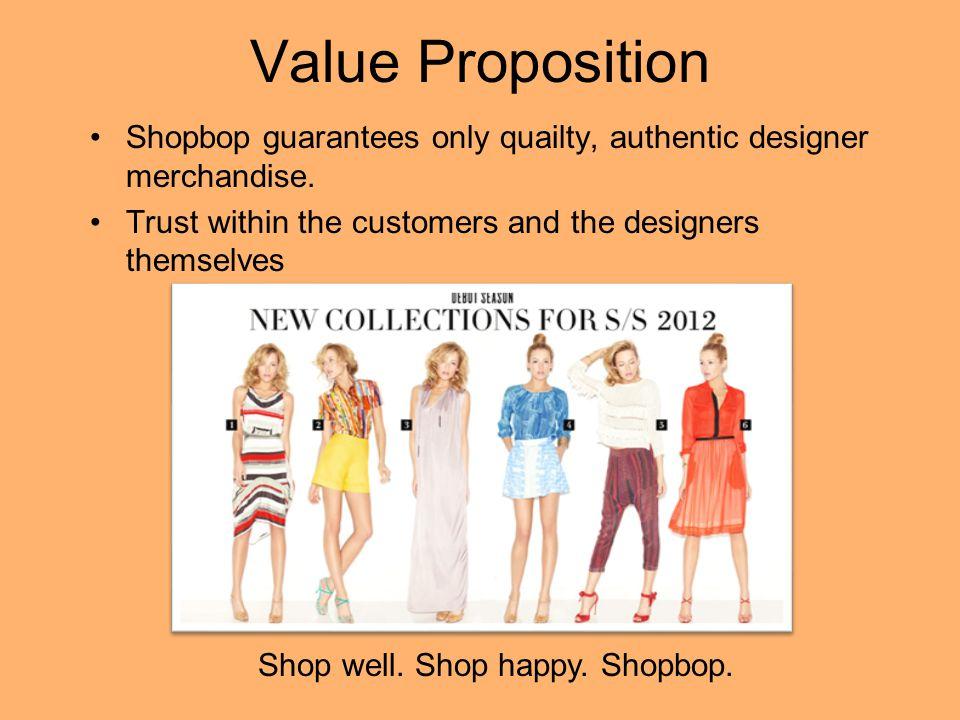 Shop well. Shop happy. Shopbop.