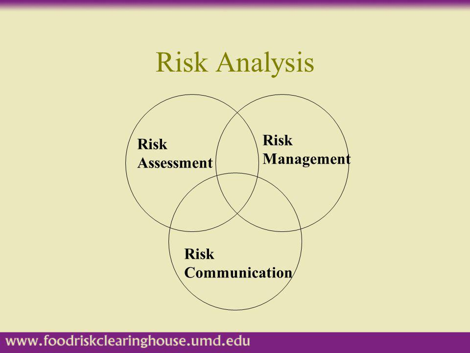 Risk Analysis Risk Risk Management Assessment Risk Communication
