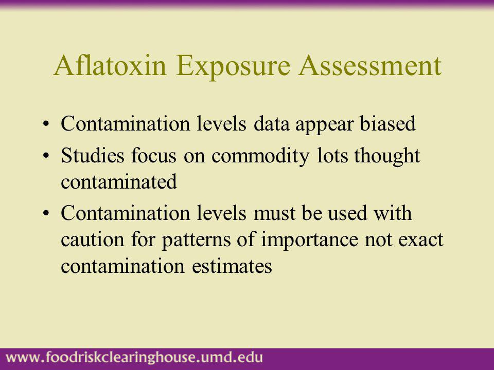 Aflatoxin Exposure Assessment