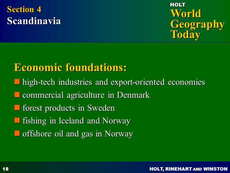 Economic foundations: