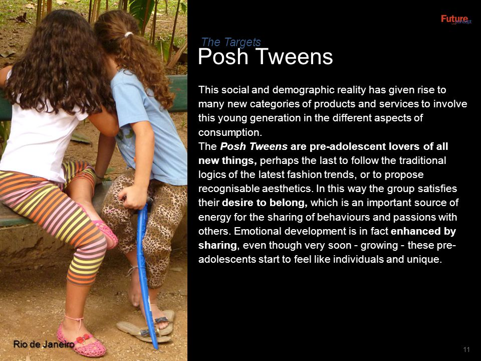 Posh Tweens The Targets