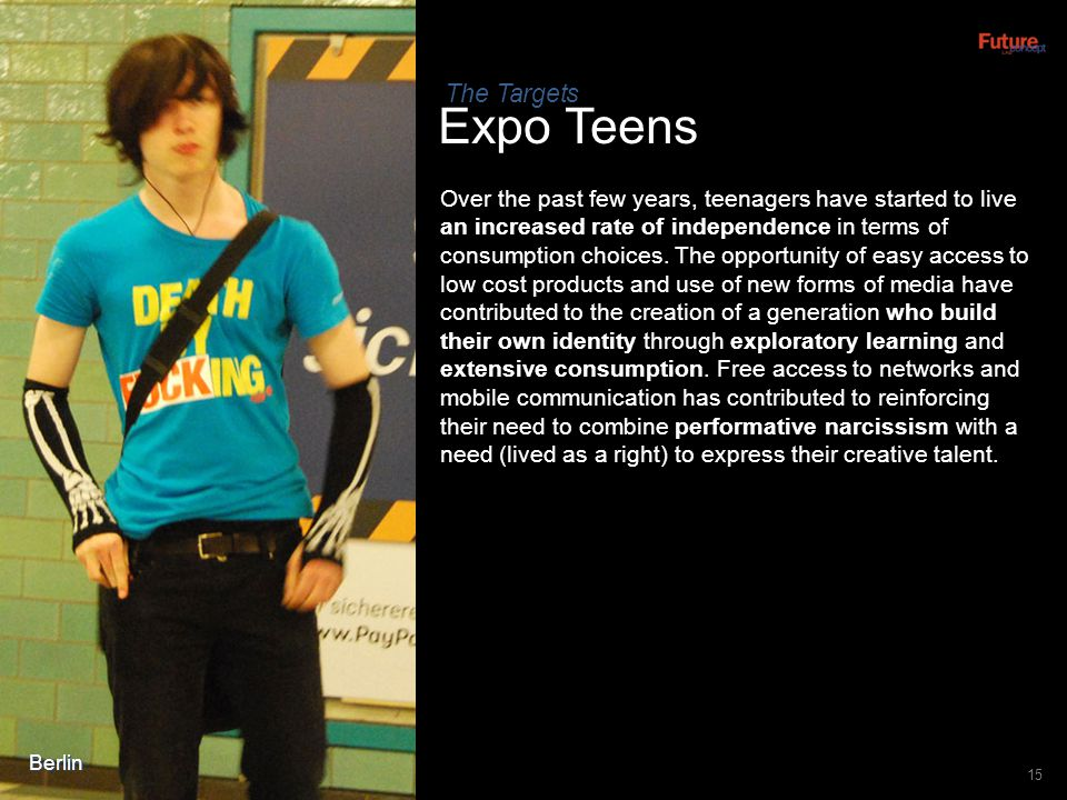 The Targets Expo Teens.
