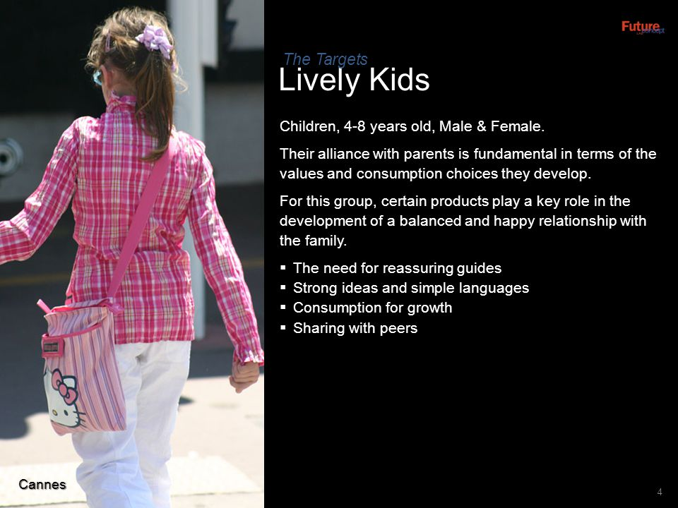 Lively Kids The Targets Children, 4-8 years old, Male & Female.