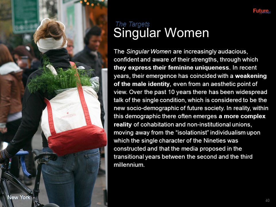 Singular Women The Targets
