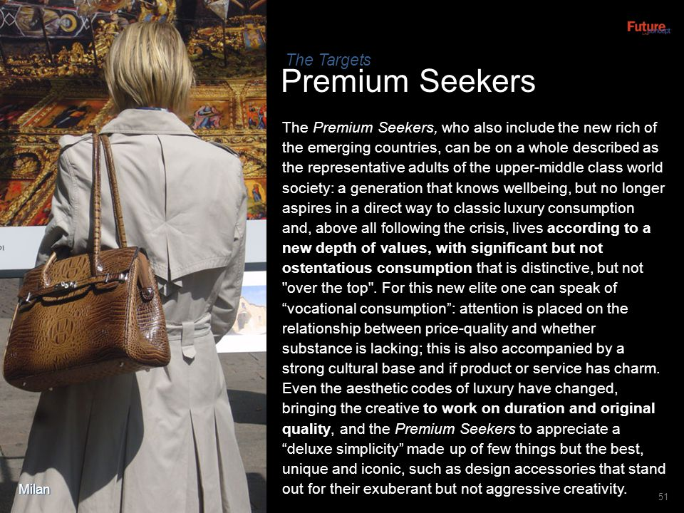 Premium Seekers The Targets