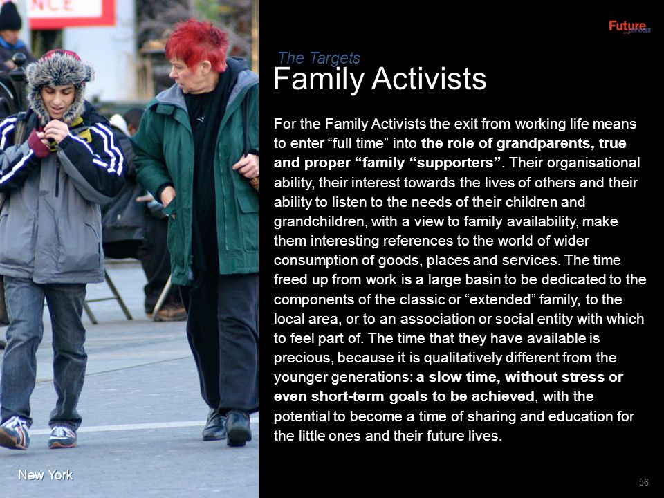Family Activists The Targets