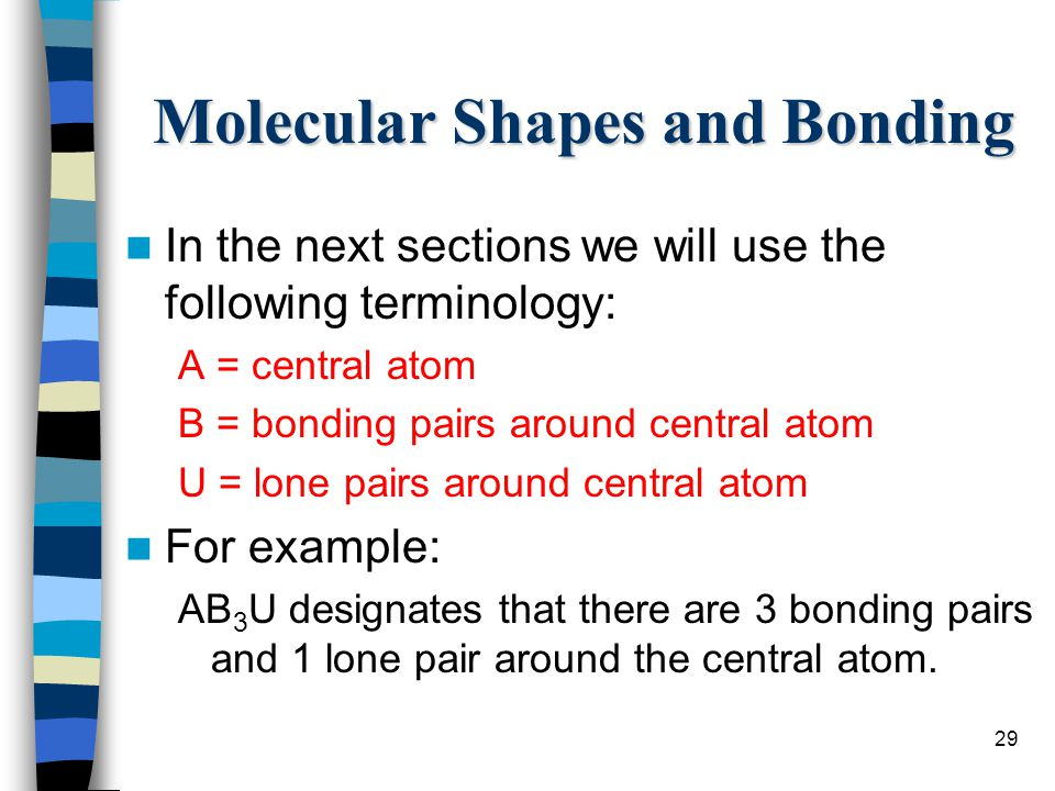 Molecular Shapes and Bonding