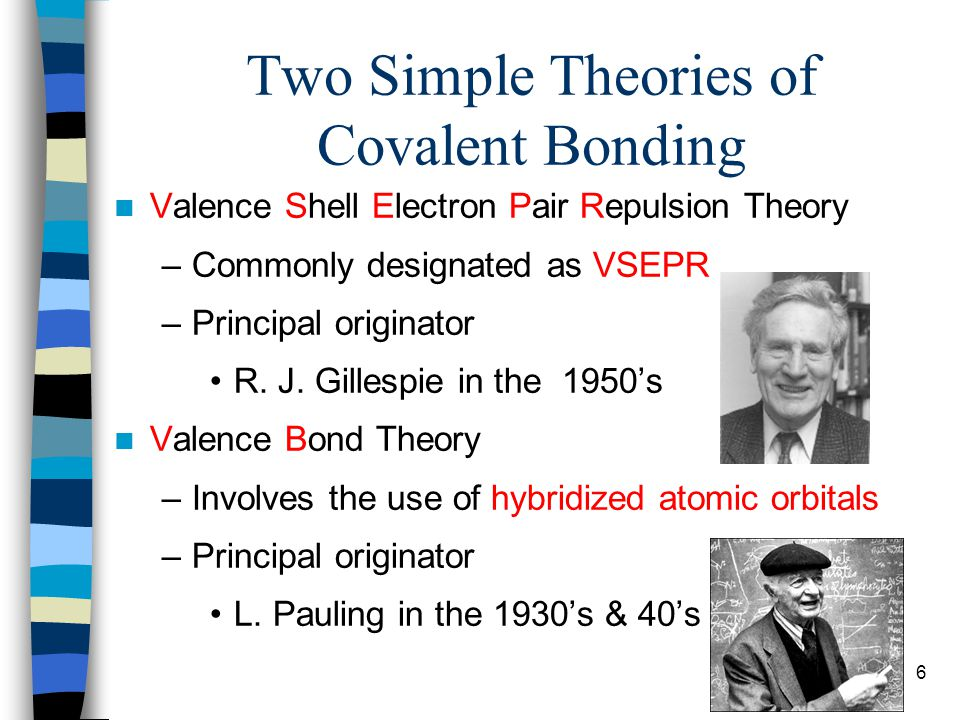 Two Simple Theories of Covalent Bonding