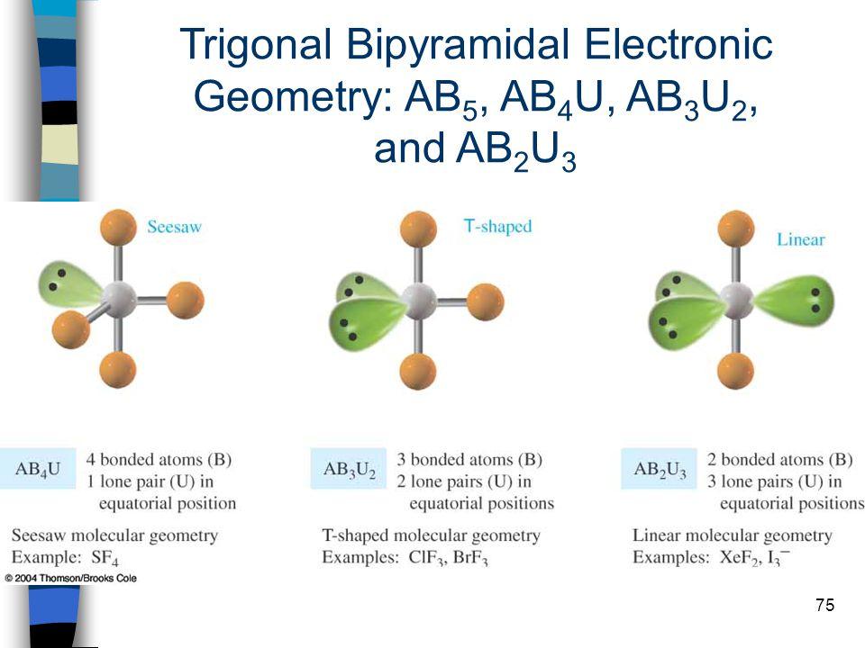 Trigonal Bipyramidal Electronic