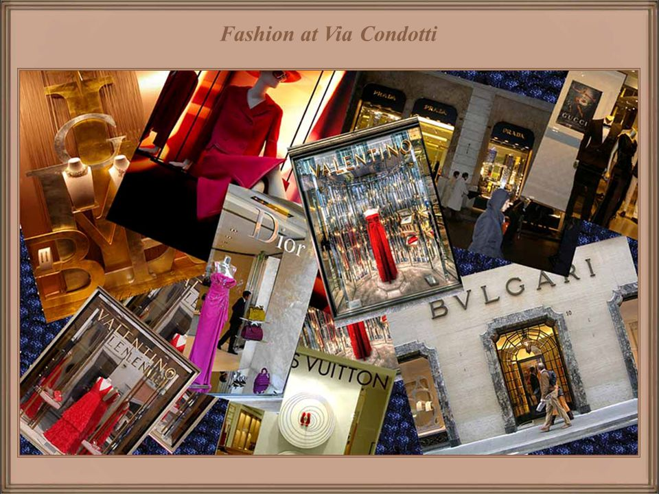 Fashion at Via Condotti