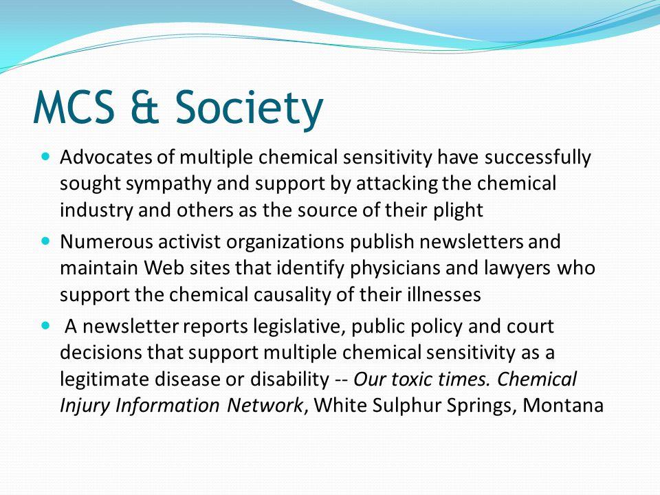 MCS & Society