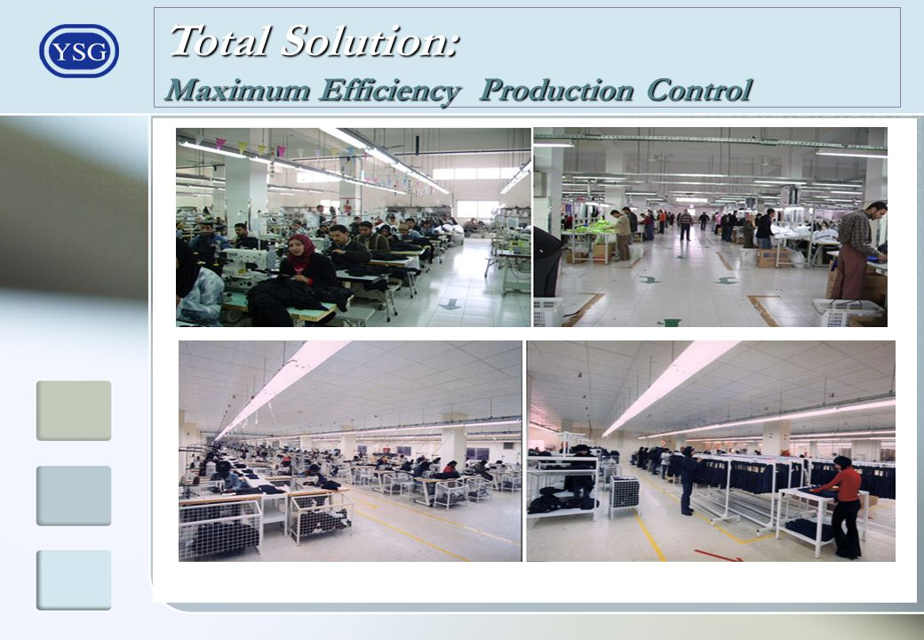 Total Solution: Maximum Efficiency Production Control