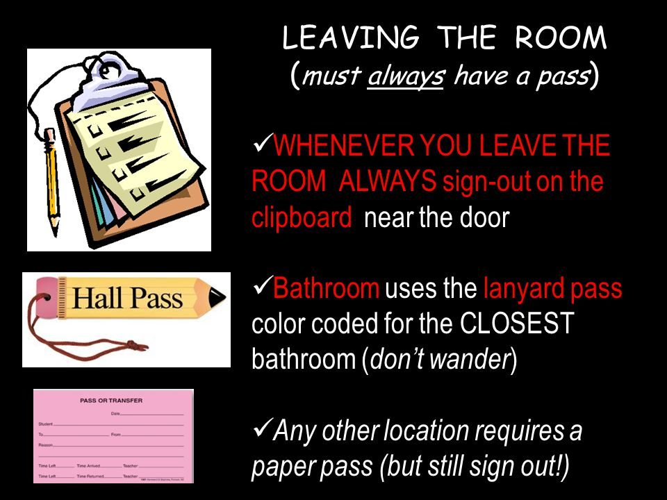 Bathroom Sign Location what are the expectations of a high school student ? - ppt download