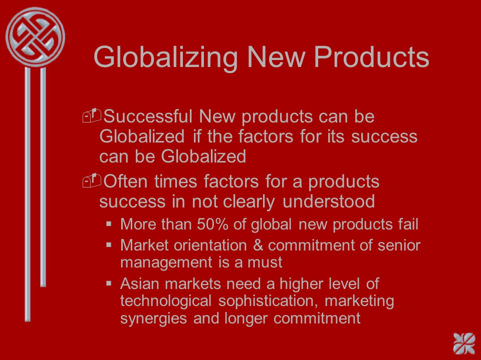 Globalizing New Products