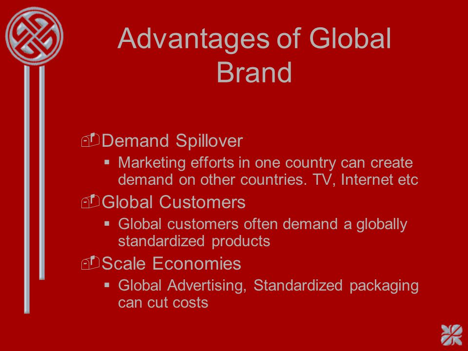 Advantages of Global Brand