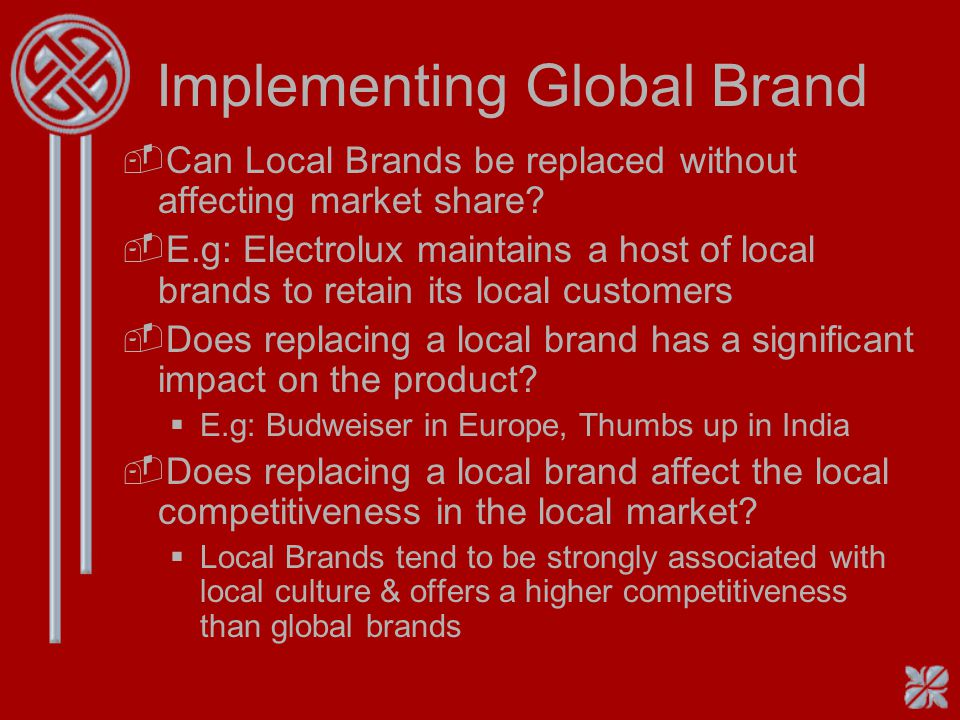 Implementing Global Brand