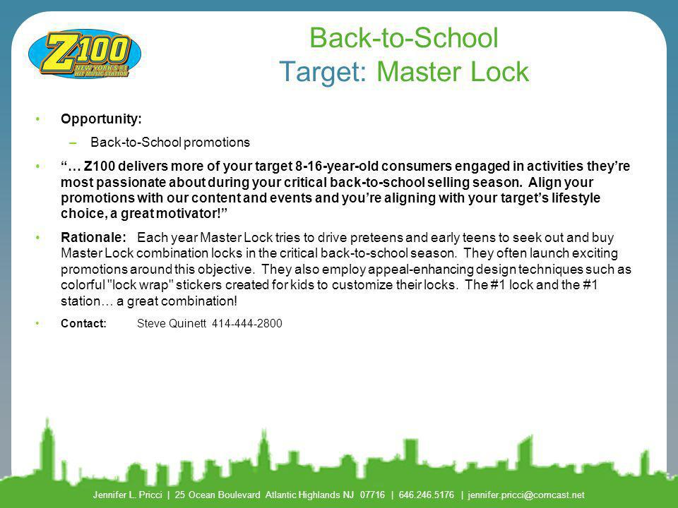 Back-to-School Target: Master Lock
