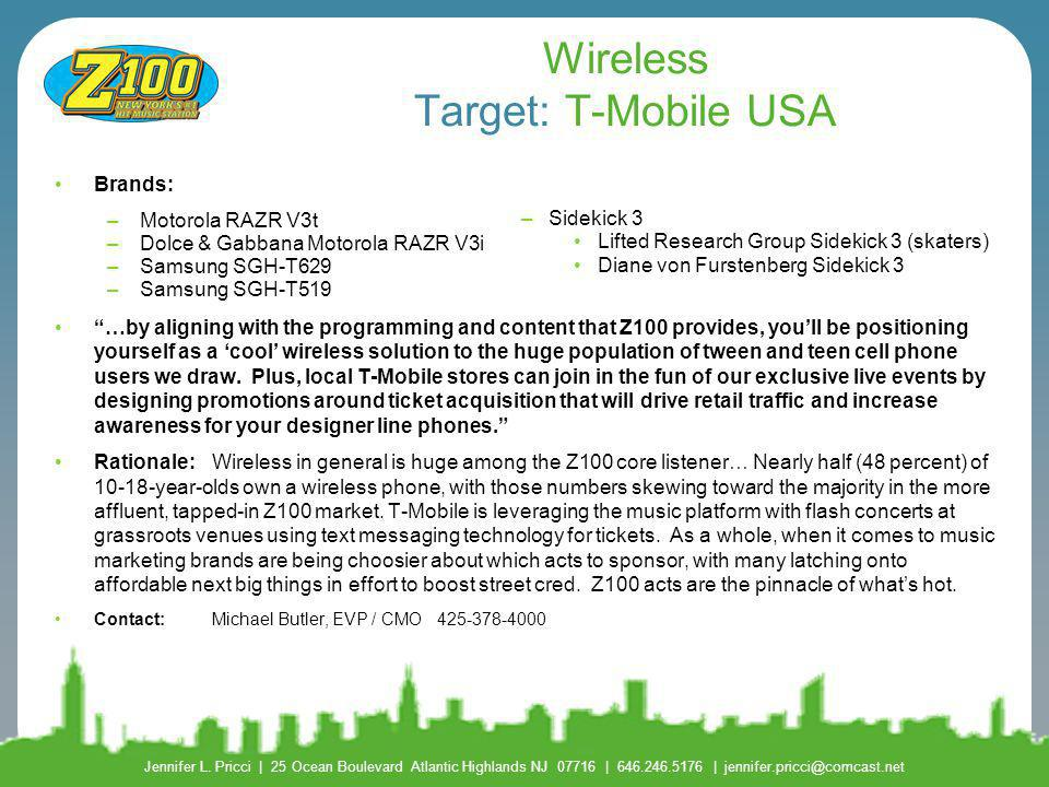 Wireless Target: T-Mobile USA