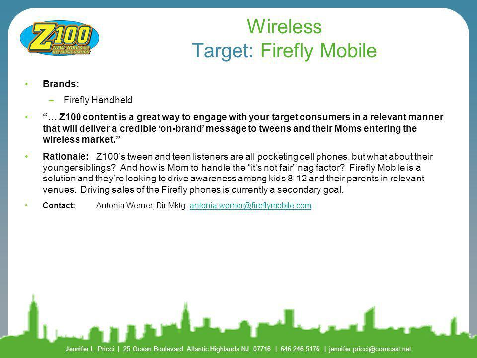 Wireless Target: Firefly Mobile
