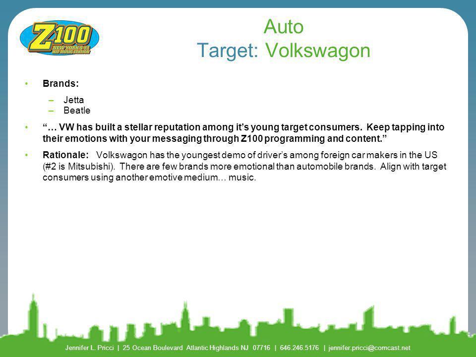 Auto Target: Volkswagon