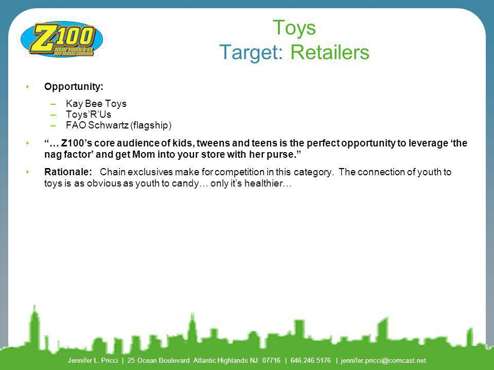 Toys Target: Retailers