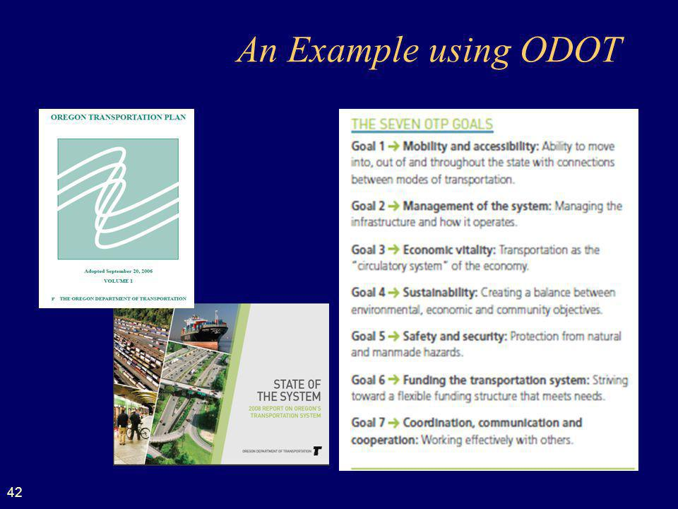 An Example using ODOT