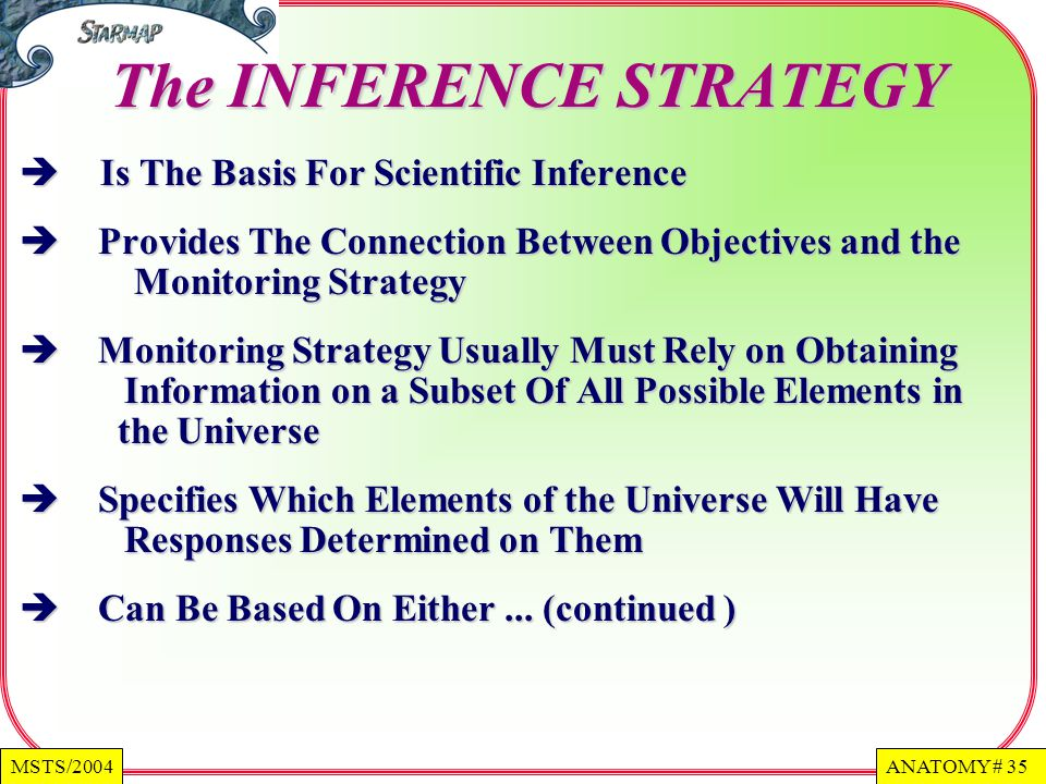 The INFERENCE STRATEGY