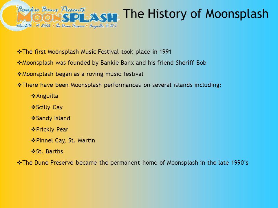 The History of Moonsplash