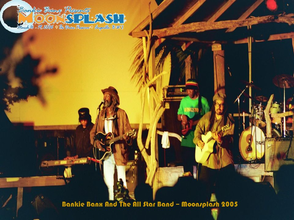 Bankie Banx And The All Star Band – Moonsplash 2005