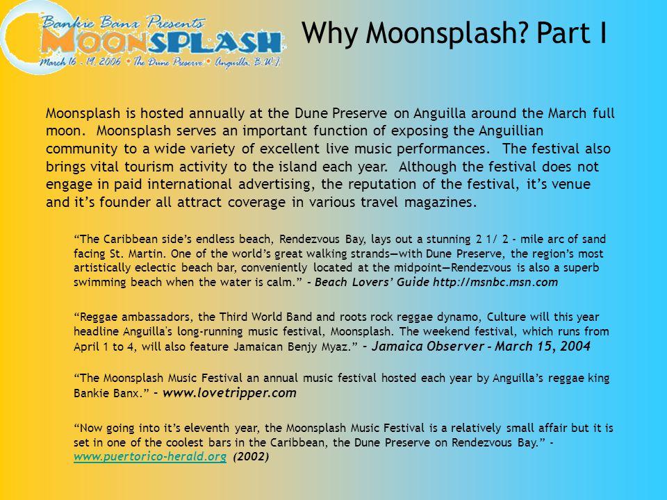 Why Moonsplash Part I
