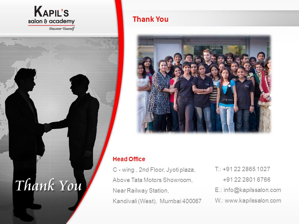 Thank You Head Office C - wing , 2nd Floor, Jyoti plaza,