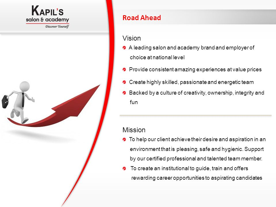 Road Ahead Vision Mission