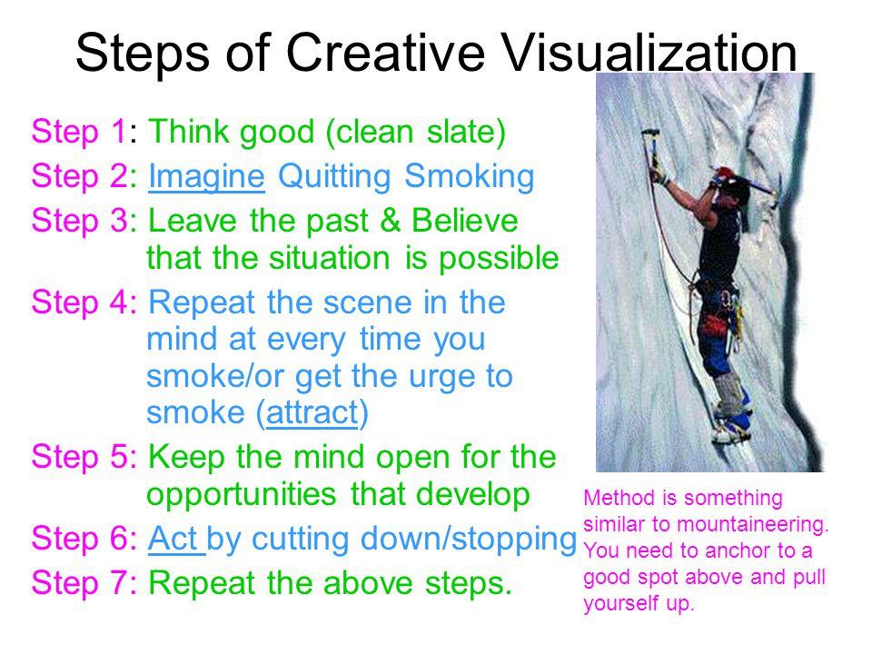 Steps of Creative Visualization