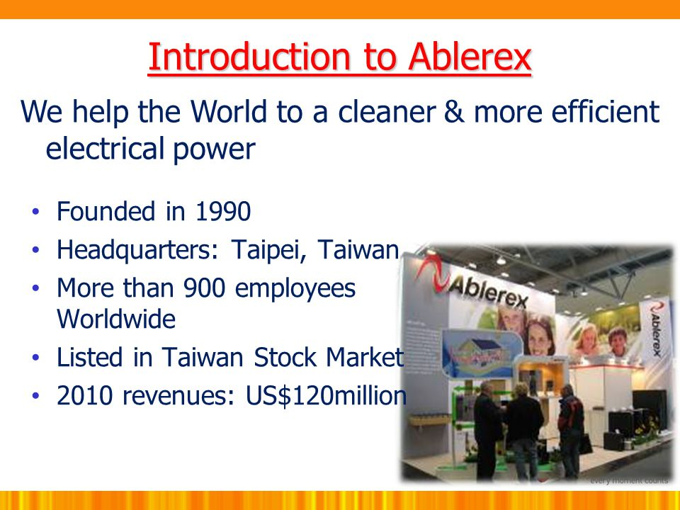 Introduction to Ablerex