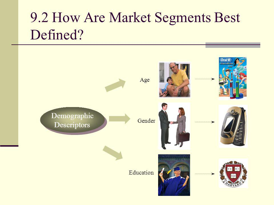 9.2 How Are Market Segments Best Defined