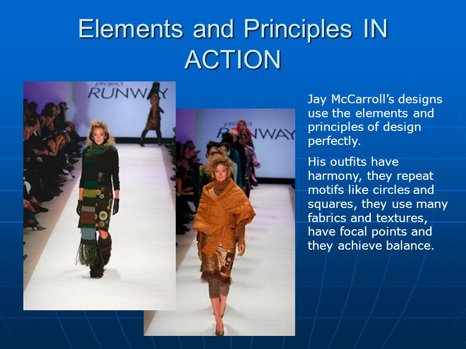 Elements and Principles IN ACTION