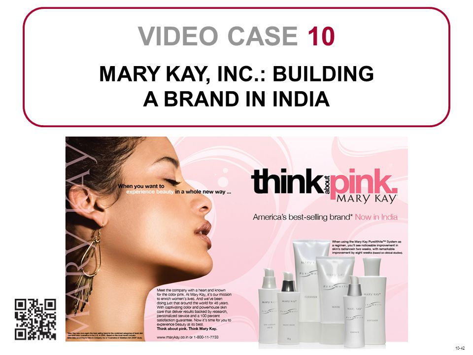 mary kay written positioning statement
