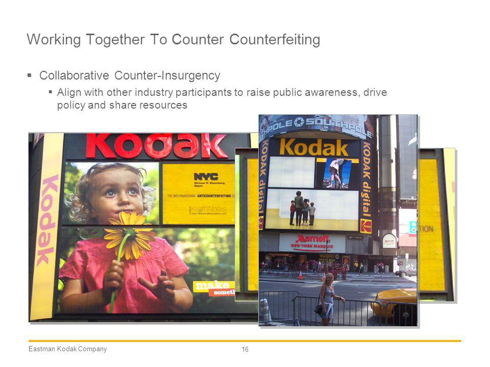 Working Together To Counter Counterfeiting