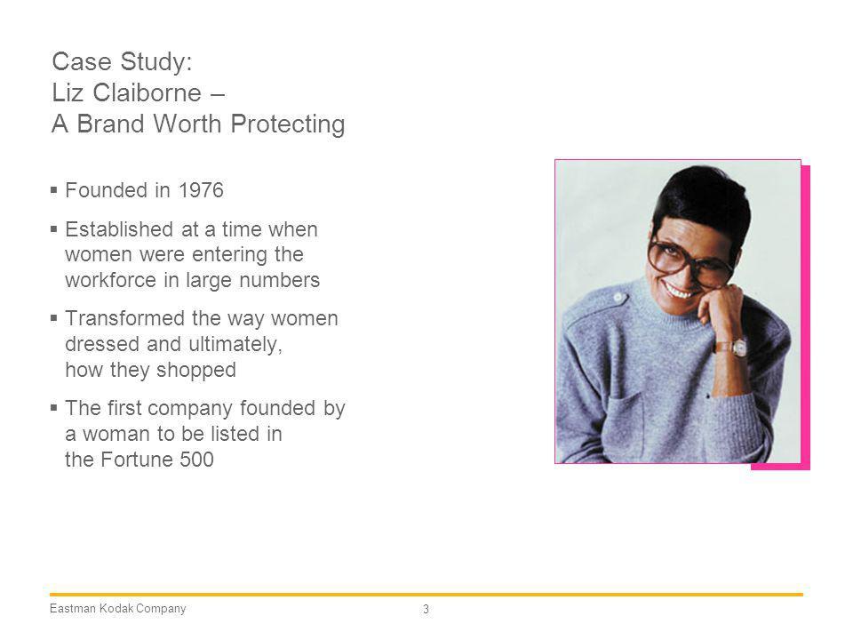 Case Study: Liz Claiborne – A Brand Worth Protecting