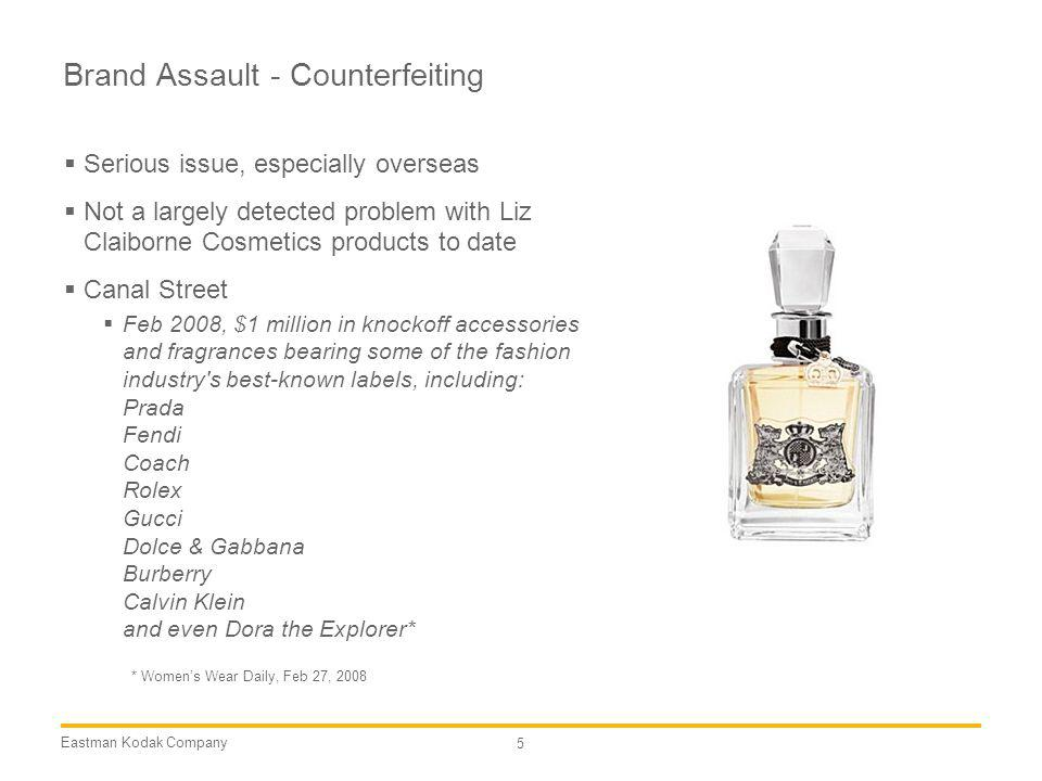 Brand Assault - Counterfeiting
