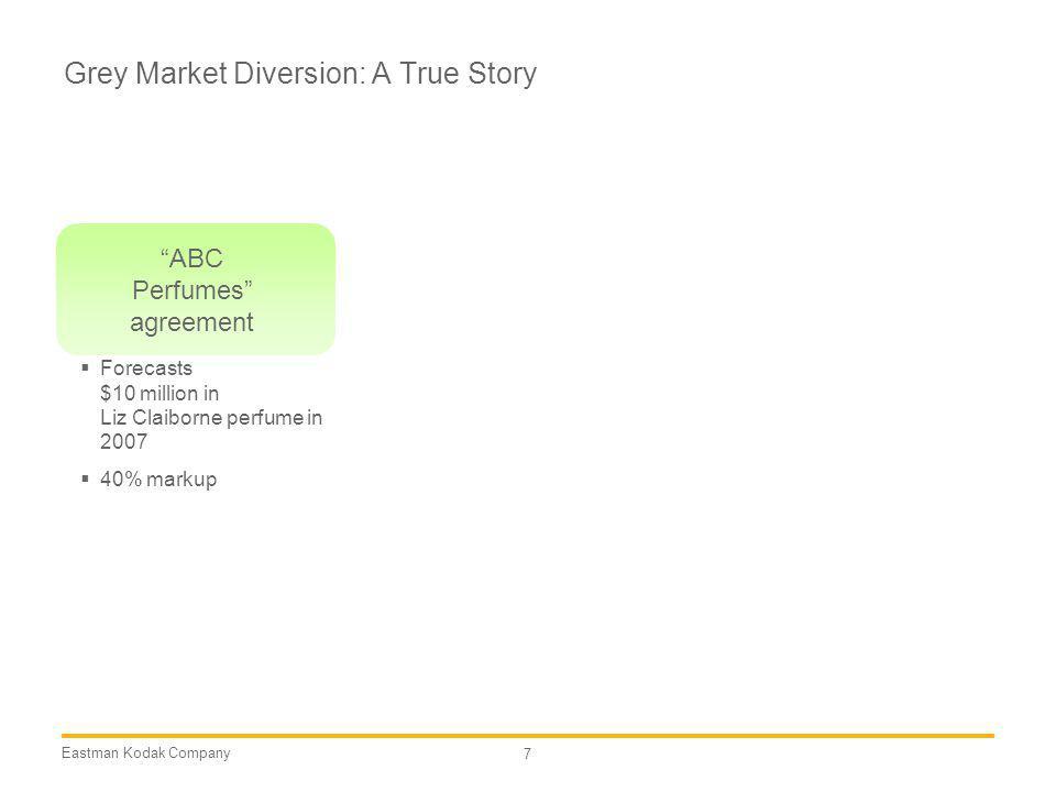 Grey Market Diversion: A True Story