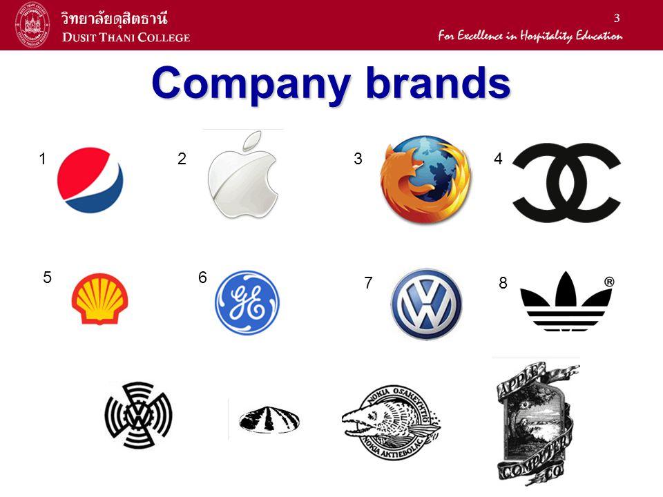 Company brands 1 2 3 7 6 5 4 8