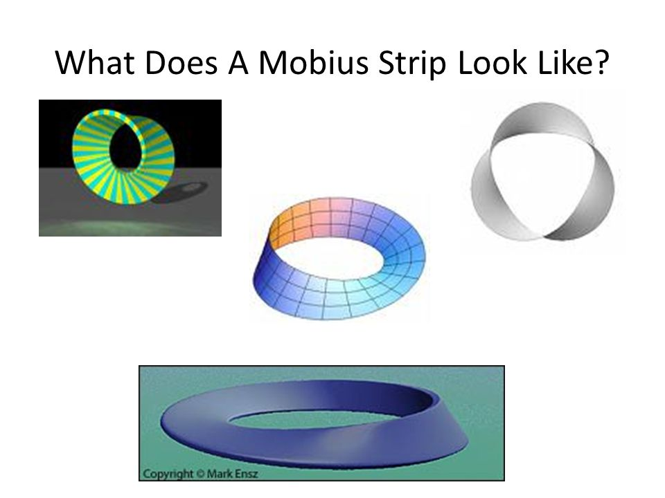 What Does A Mobius Strip Look Like