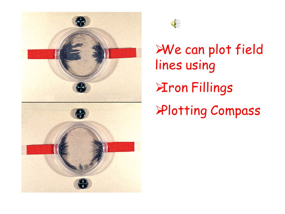 We can plot field lines using