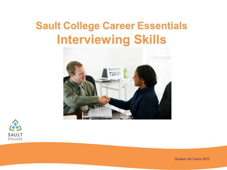 Sault College Career Essentials