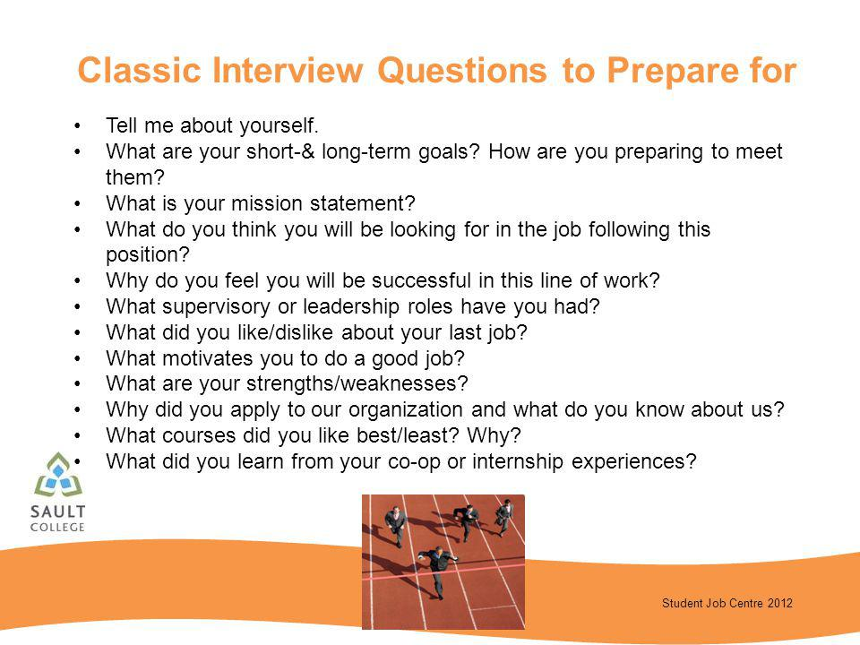 Classic Interview Questions to Prepare for
