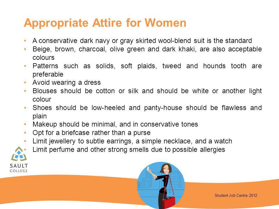 Appropriate Attire for Women
